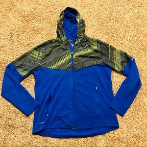 Nike Running Dri Fit Windbreaker Jacket